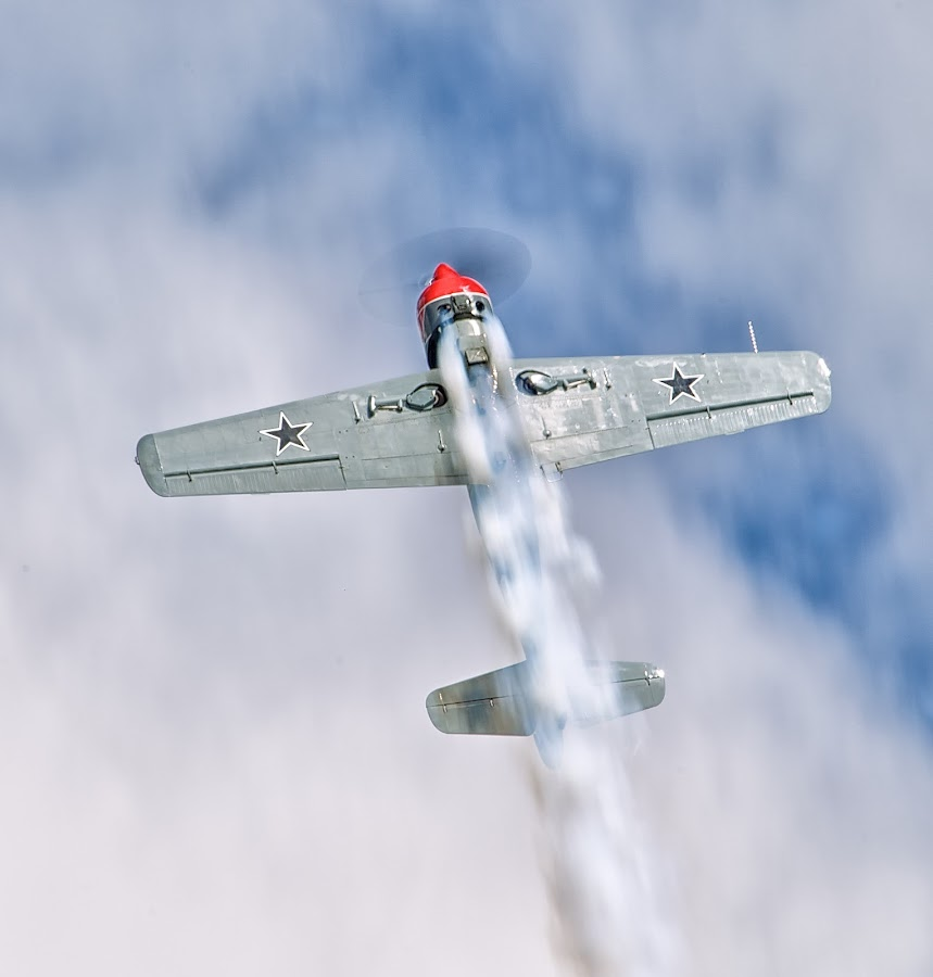 Over the Top by Mark Theriot - Transportation Airplanes