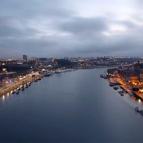 Duas Cidades,um rio by Pedro Ribeiro - Landscapes Sunsets & Sunrises