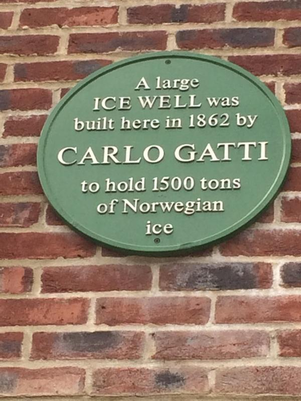 A largeICE WELL wasbuilt here in 1862 byCARLO GATTIto hold 1500 tonsof Norwegianice Submitted by benhammersley
