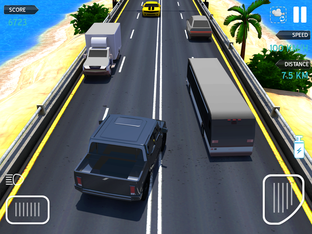 traffic racing spiel am strand android spiele download. Black Bedroom Furniture Sets. Home Design Ideas