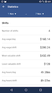 Shift Tracker Pro- screenshot thumbnail