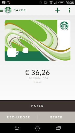 Starbucks France screenshot 2
