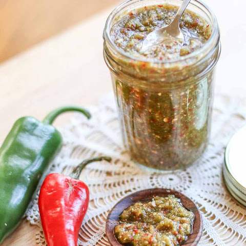 Fresh Hot Jalapeño and Garlic Relish