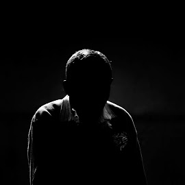 IMPRESSION by Pritam Joardar - People Street & Candids ( portraiture, black and white, human interest, candid, street drama, people, street photography )