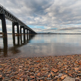 Tay Bridge by Iain Cathro - Buildings & Architecture Bridges & Suspended Structures ( scotland, tay, tay bridge, dundee, 1897, thomas bouch, river )