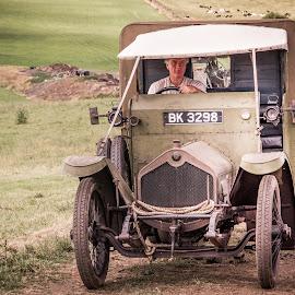 World War One Wheels by Darrell Evans - Transportation Automobiles ( history, car, old, van, transport, truck, wwi, wheels, great war, 1914-18, warfare, war, military )
