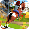 Cartoon Horse Riding - Derby Racing Game for Kids APK for Bluestacks