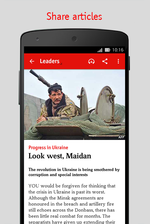 The Economist Screenshot 3