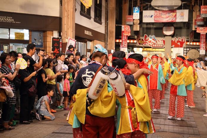 第61回よさこい祭り☆本祭2日目・はりまや橋競演場11☆上1目1423