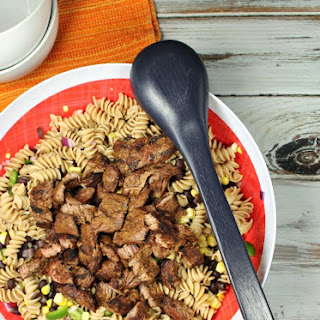 Southwest Steak Pasta Salad