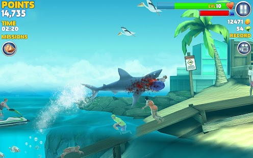 Game Hungry Shark Evolution APK for Kindle