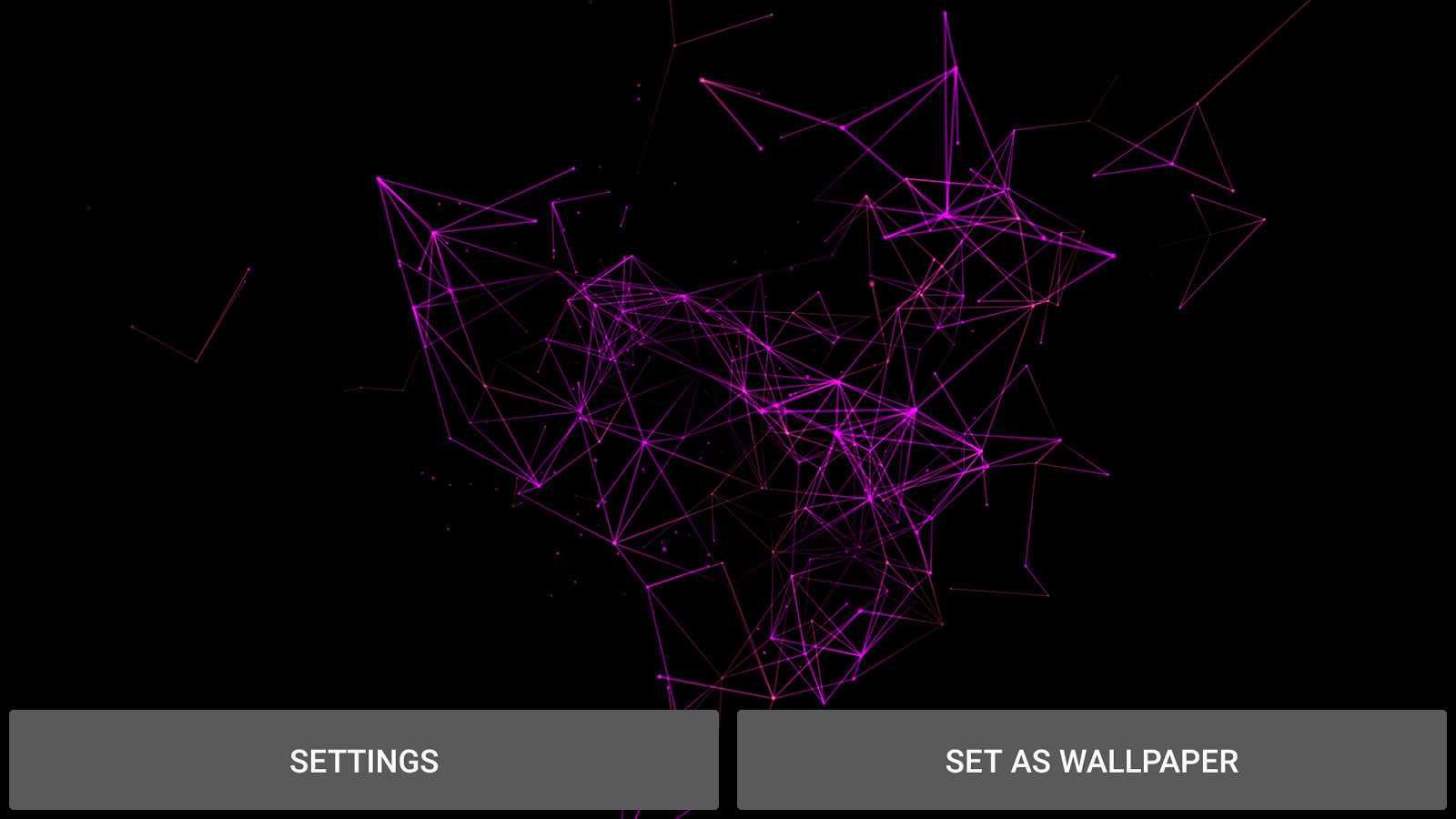 Particle Plexus Live Wallpaper Screenshot 8