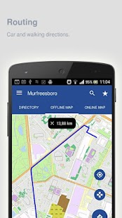 Murfreesboro Map offline - screenshot