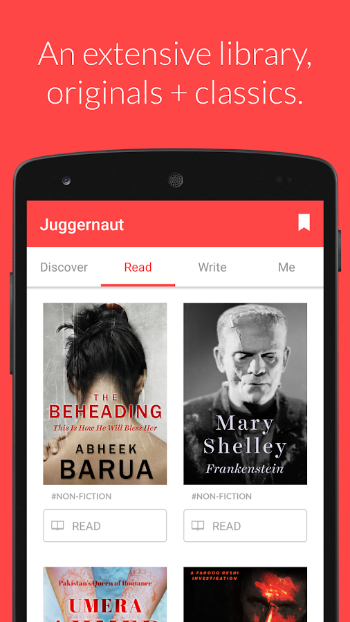 Juggernaut Books Screenshot 3