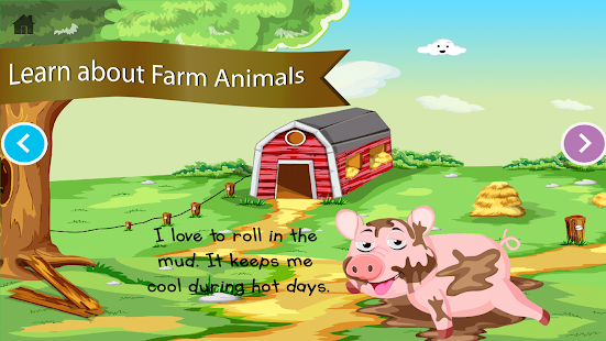 Farm Animals for Kindergarten - screenshot