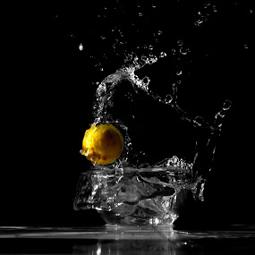 Lemon Splash by Arpan Sagar - Novices Only Abstract