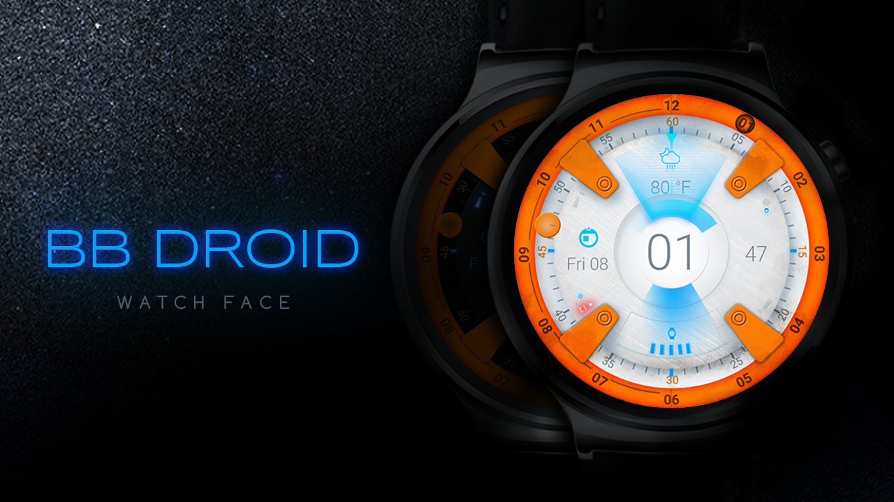 BB Droid Watch Face Screenshot 2
