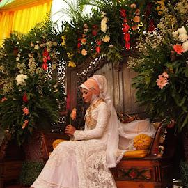 Indonesian bride by Rudy Tombeng - Wedding Bride ( #brideindonesia #indonesiabride )