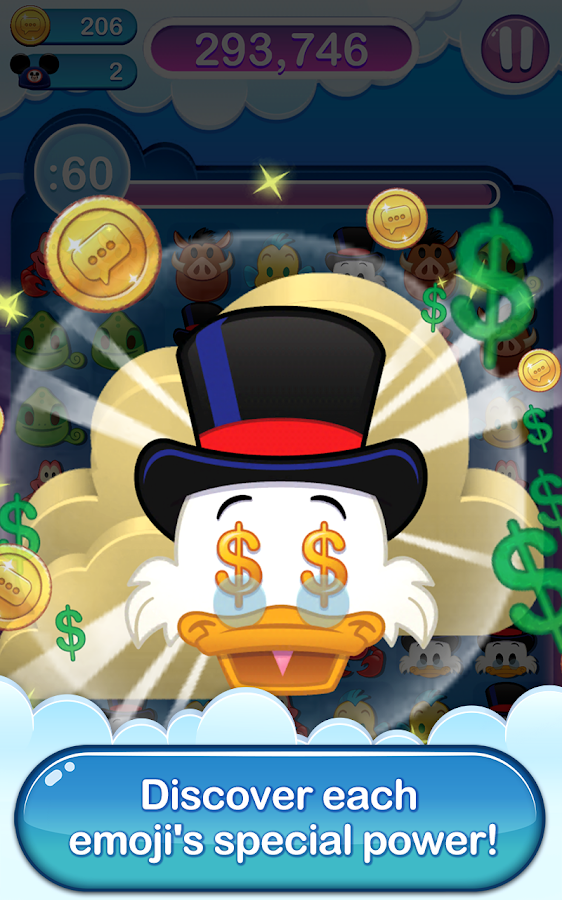 Disney Emoji Blitz - Ducktales Screenshot 14