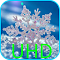 Snowflakes On Black UHD LWP 2.0 Apk