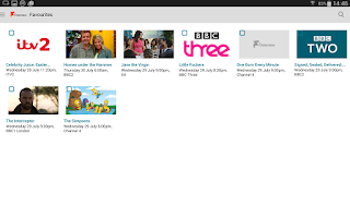 Screenshot of Freeview TV Guide