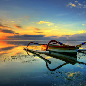 Sanur Reflektion by Keril Doank - Landscapes Waterscapes ( teman )