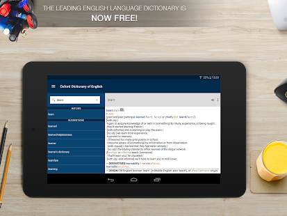 Download Oxford Dictionary of English APK for Laptop
