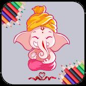 Little Ganesha Color Book-KIDS APK for Bluestacks