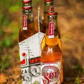 Sol Cerveza by Yordan Mihov - Food & Drink Alcohol & Drinks ( sony, beer, alcohol, alpha, sol, bottle, cerveza )