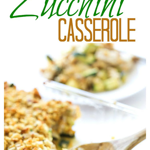 Cheesy Turkey Zucchini Casserole