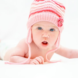 Baby-graphy  by Hurghis Vasile - Babies & Children Babies ( angel, colors, lifestyle, baby, portrait )