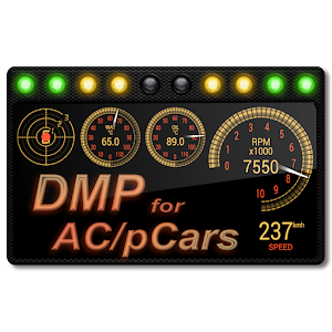 DashMeterPro for AC/pCars