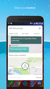 Messenger für Pokemon GO Screenshot