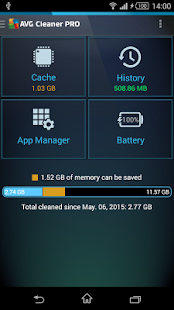 App AVG Cleaner for Xperia™ apk for kindle fire