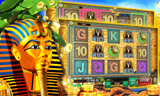 Slot Machines Pharaohs Saga - screenshot