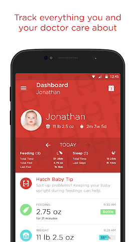 android Hatch Baby - Activity Tracker Screenshot 0