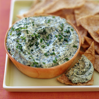 Feta and Spinach Dip