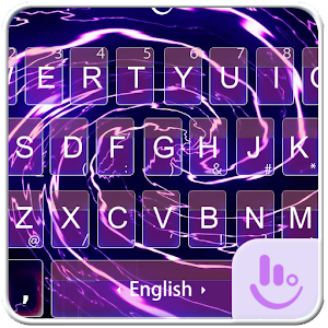 Purple Fantasy Keyboard Theme For PC