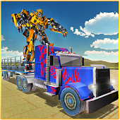 Free X Ray Robot Transport Truck APK for Windows 8