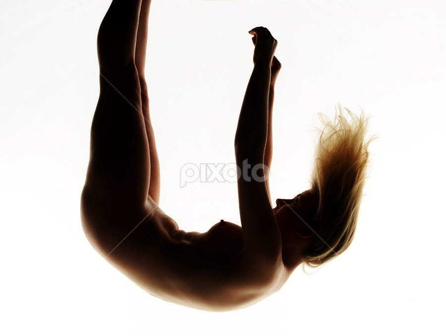 against the gravity  by Vineet Johri - Nudes & Boudoir Artistic Nude ( model, nude, hairs, art, white, gravity )