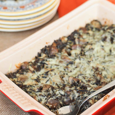 Mushroom and Wild Rice Casserole