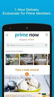 Amazon Prime Now for pc