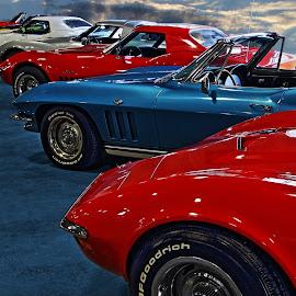 Corvette Country by JEFFREY LORBER - Transportation Automobiles ( gateway classic cars, corvette, vette, lorberphoto, rust 'n chrome, jeffrey lorber )