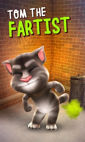 Talking Tom Cat Android App Screenshot