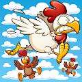 Flying Chickens APK for Bluestacks