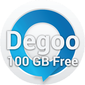 100GB Free Cloud Storage Degoo for Android