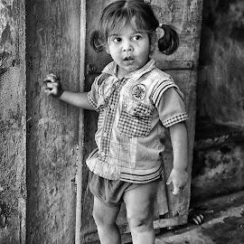 Sweet Indian girl by Jos Meubis - Babies & Children Children Candids
