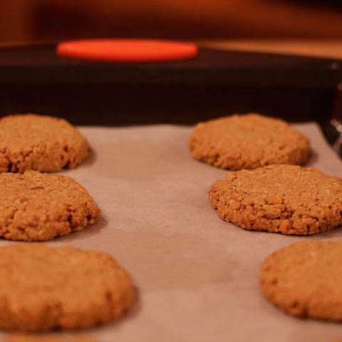 Sunny Anderson's Peanut Butter Oats Granola Cookies