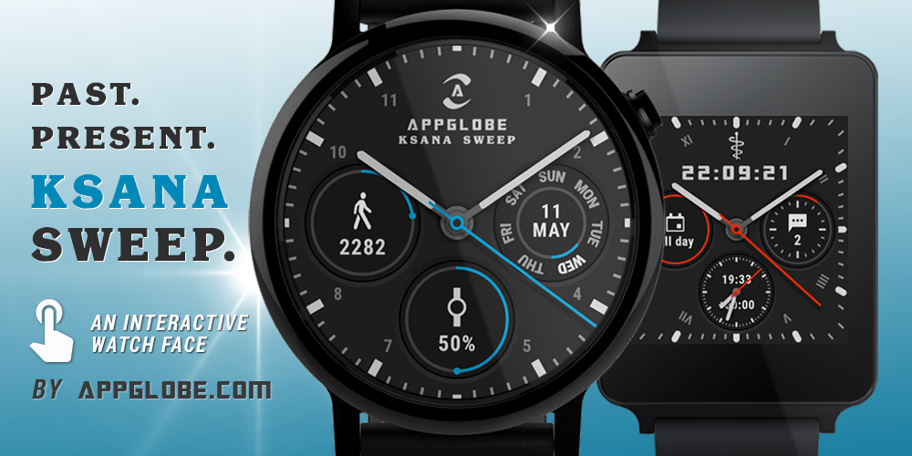 ? Ksana Sweep Watch Face for Android Wear Screenshot 8