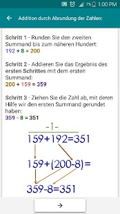 Mathematische Tricks Screenshot